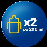 x2 po 200 ml